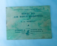 Webley booklet