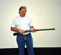 Peter and Girandoni air rifle.jpg