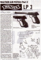 Walther LP3 Air Pistol