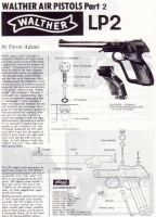 Walther LP2 Air Pistol