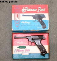 PLAINSMAN BB PISTOL.